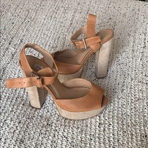 Steve Madden high block heels